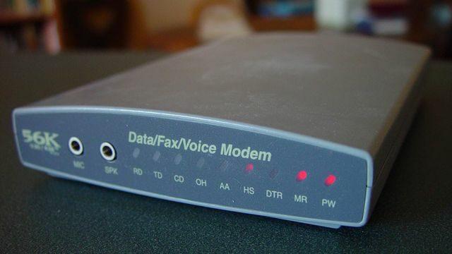 Dial Up 56K Modem