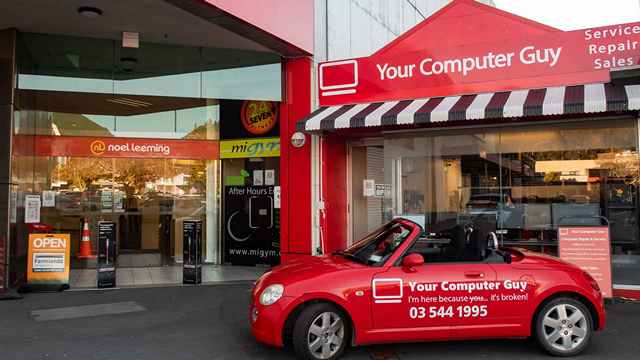 Computer service shop near Noel Leeming