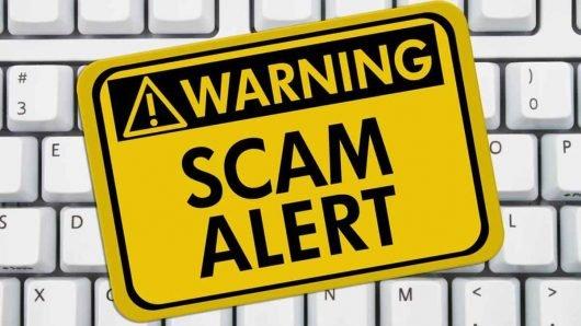 Warning scam alert