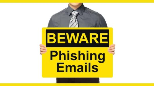 Beware of phishing emails newsletter - how to tell if email is fake