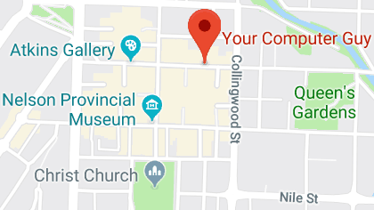 Google Maps - Your Computer Guy Nelson