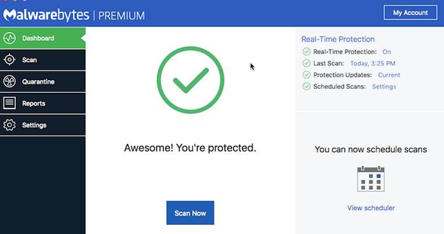 Malwarebytes Premium for Apple Mac OS X