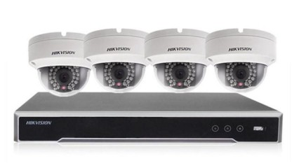 You need a static IP address for NVR and security cameras