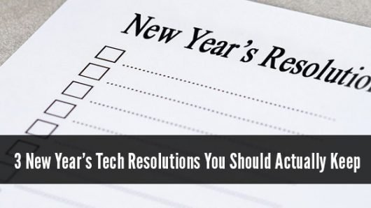 Blog - New Year tech resolutions