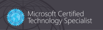 Certification - Microsoft Certified Solutions Associate