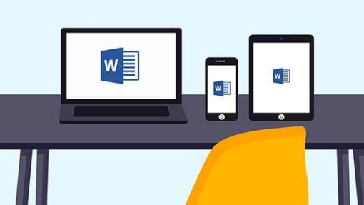 Blog - Office 365 - on laptop, tablet and phone